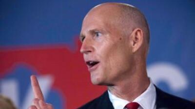 Gobernador de Florida, Rick Scott.