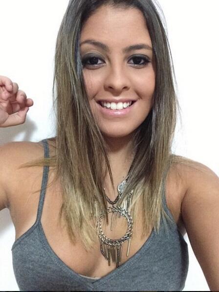 Danielle es la hija del ex jugador de la selección brasileña, Romario, ú...