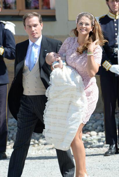 Laprincesa Magdalena de Suecia y el empresario Christopher O'Neill...