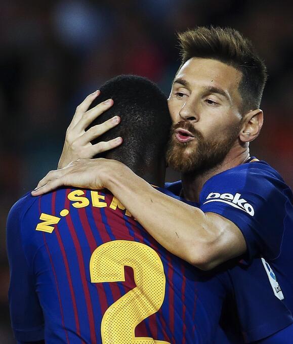 Faena de Messi en la goleada 6-1 del Barcelona sobre Eibar 6364145718340...