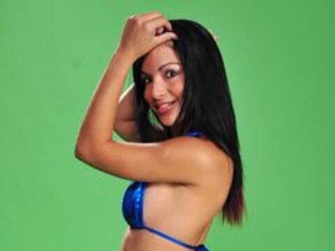 Esta chica, fuerte candidata a ser la nueva Miss Colita, sabe cóm...