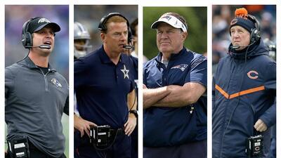 Power Ranking: Entrenadores en Jefe en la NFL