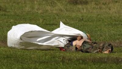 Las autoridades colombianas hallaron los cadáveres de nueve jóvenes ases...