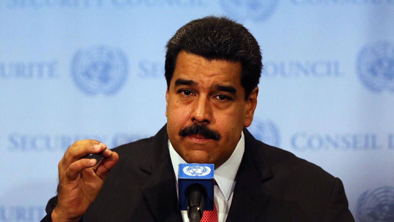 """Maduro afirma que la supuesta incursión aérea de EEUU es una """"provocación""""."""