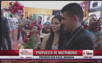 Propuesta de matrimonio con La Leyenda y La Trakalosa