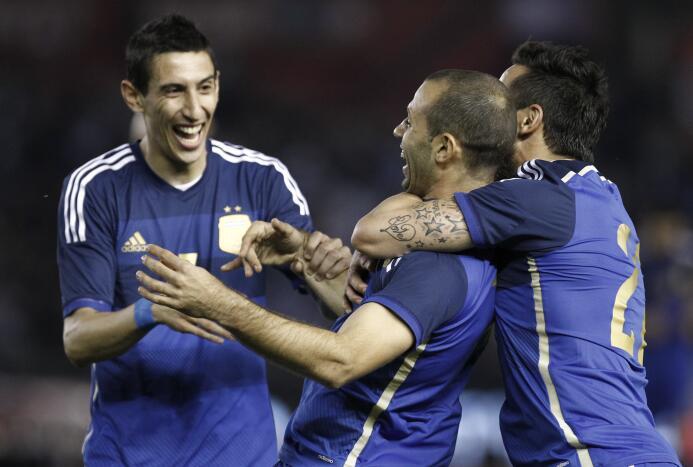 Los 'suertudos' que jugaron con Ángel Di María 14.jpg
