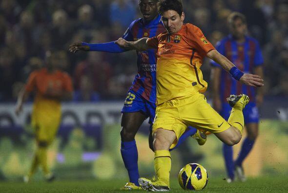 Pero el que puso la rúbrica fue Lionel Messi, que abrió el marcador.