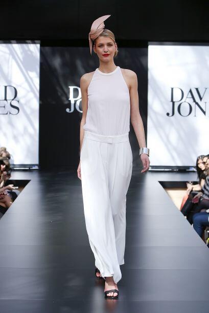 Acá está otro modelo que es mucho más femenino, esto por las telas liger...