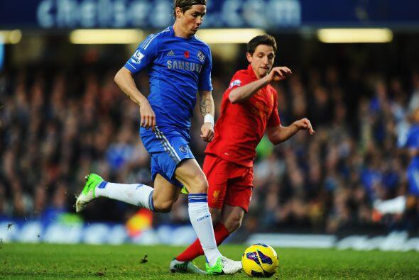'Blues' y 'Reds' encaraban en Stamford Bridge uno de los partidos más es...
