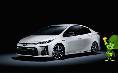 El Toyota Prius PHV GR SPORT es la versión del Prius Prime prepar...