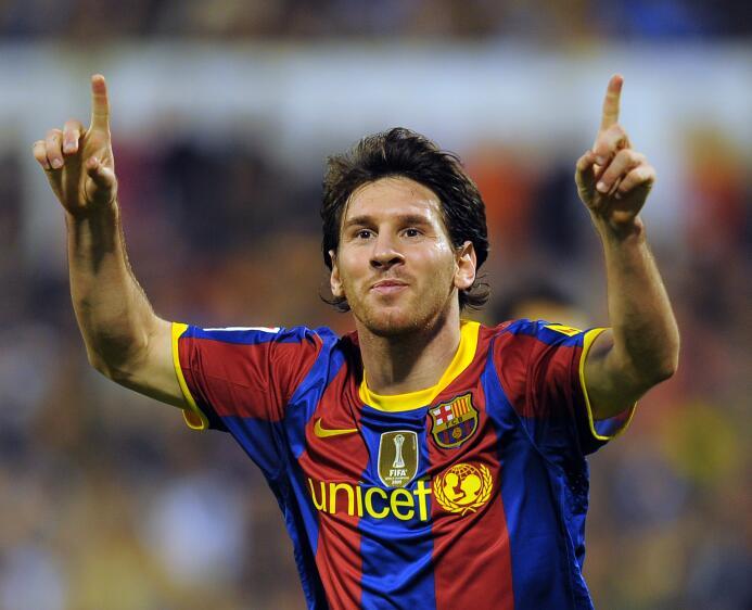 Temporada 2010/2011 - Lionel Messi (F.C. Barcelona) con 11 goles.