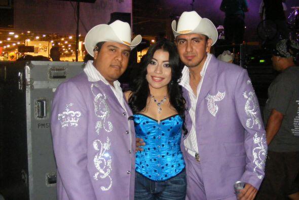 Los miembros de Trono de México son  bastante sencillos de trato. Aquí l...