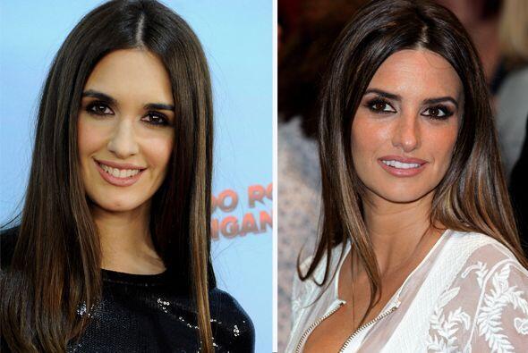 ¡Guapísimas e idénticas! Paz Vega y Penélope Cruz parecen hermanas.  Aqu...