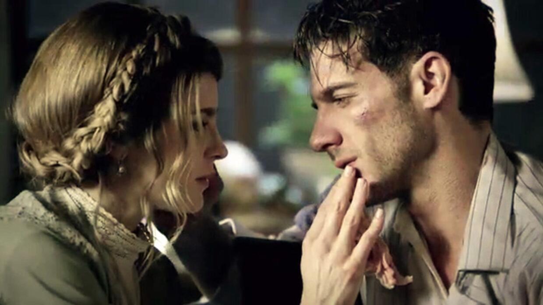 Isabel y Julio en El Hotel de los Secretos.