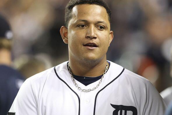 1B. Miguel Cabrera. Tigres de Detroit. El venezolano bateó para un impre...