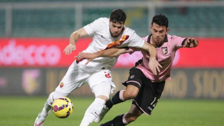 El atacante italiano anotó el empate de la 'Loba' en Palermo.