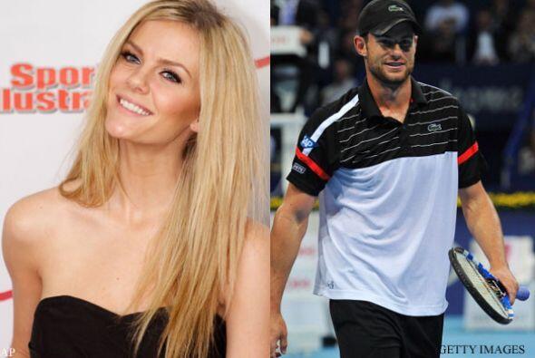 BROOKLYN DECKER Y ANDY RODDICK: la modelo y el tenista estadounidense co...