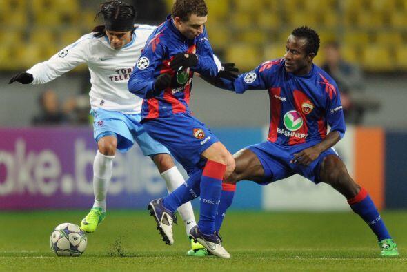 Y finalmente el CSKA de Moscú, goleó 3 a 0 al Trabzonspor en Rusia.