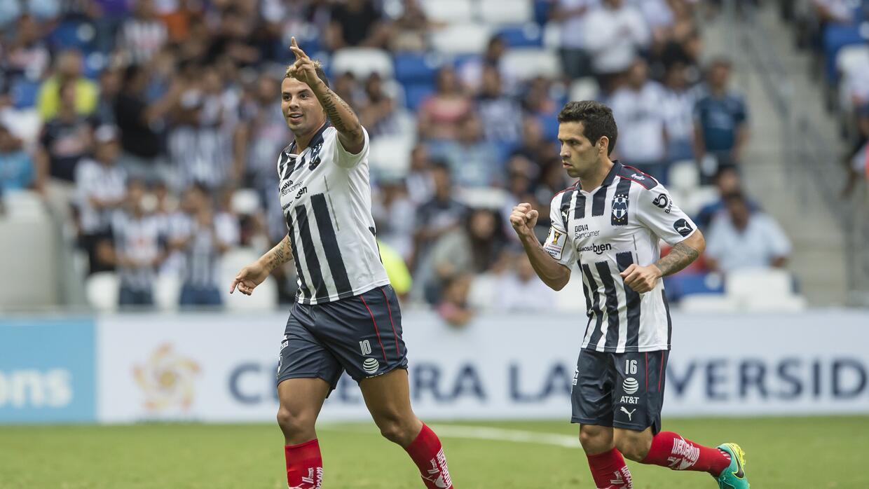 Las figuras de la Liga MX que celebraron en la fecha nueve de Conmebol C...
