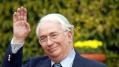 El ex presidente colombiano Belisario Betancur.