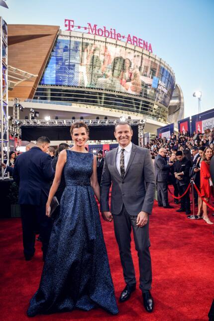 Alan Tacher y Cristina Bernal