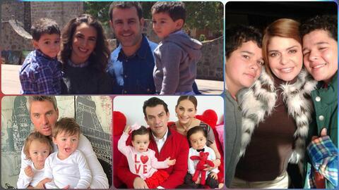 8 parejas de famosos que se convirtieron en papás por partida doble