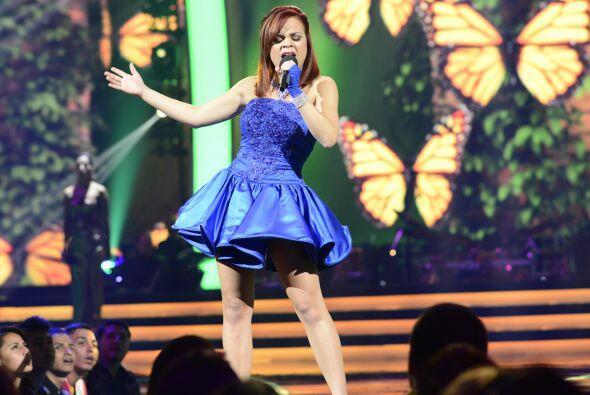 Ana Cristina pudo empezar de nuevo su actuación.