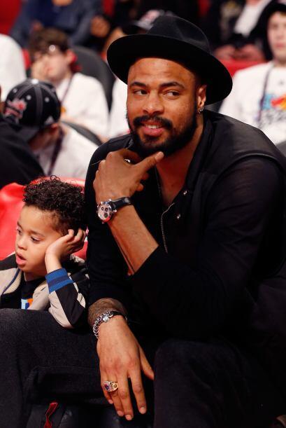 Tyson Chandler de los New York Knicks aprovechó la ocasión para mostrar...