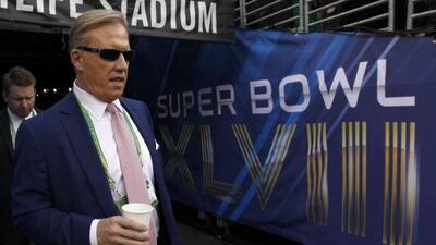 El directivo de los Broncos sabe que la ventana se cierra (AP-NFL).
