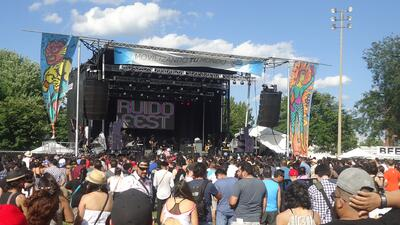 Lets party this weekend at Ruido Fest!!!