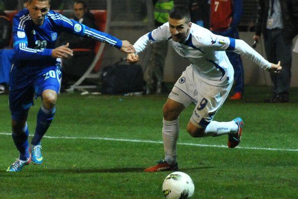 Fue el autor del gol de la victoria frente a la Seleccion de Lituania, q...