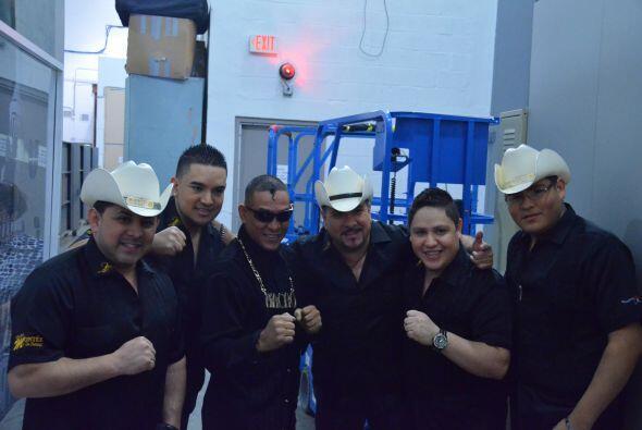 El grupo Montez Durango visitó el show para entretener al público con su...