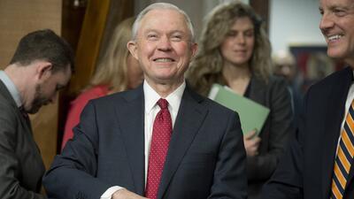 Jeff Sessions, nuevo fiscal general de EEUU