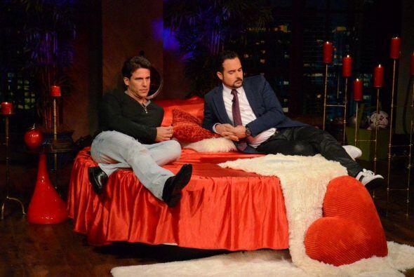 Carlos y Jorge Aravena estaban ansiosos por la llegada de la hermosa con...