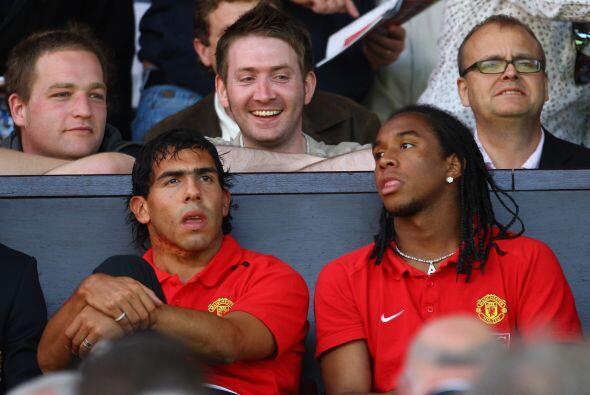 Tévez fue fichado por el Manchester United tras su paso por el We...