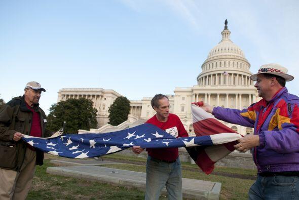 En la posición #9 se colocó el Tea party. El movimiento conservador empe...