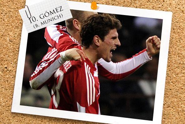 Mario Gómez, el alemán de orígenes españoles, fue el encargado de conver...