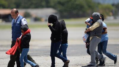 Un cuarto de los detenidos en redadas del fin de semana eran mexicanos (...