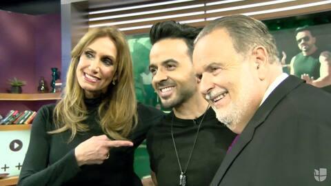 La Gozadera, Luis Fonsi llegó a nuestro show al ritmo de 'Despacito' y t...