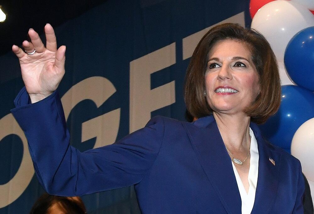 La primera mujer latina en el SenadoCatherine Cortez Masto, la hija de u...