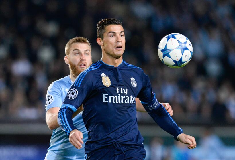 Goles y fotos en la Champions League