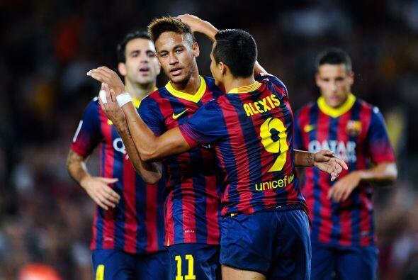 Alexis le devolvió el favor dándole el cuarto del Barcelona en lugar de...