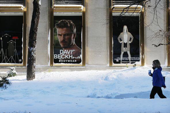 a tormenta ha dejado acumulaciones récords de nieve en algunos es...