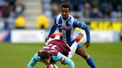 En fotos: West Ham fue eliminado por Wigan con 'Chicharito' como titular en FA Cup