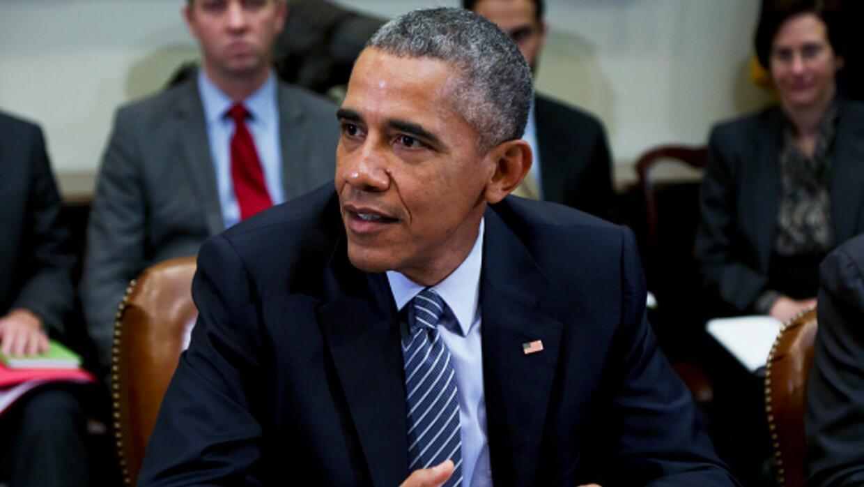 El presidente Obama en el evento realizado en la Casa Blanca