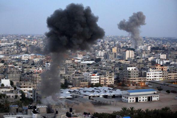 """El presidente palestino, Mahmud Abas, tachó de """"genocidio&qu..."""