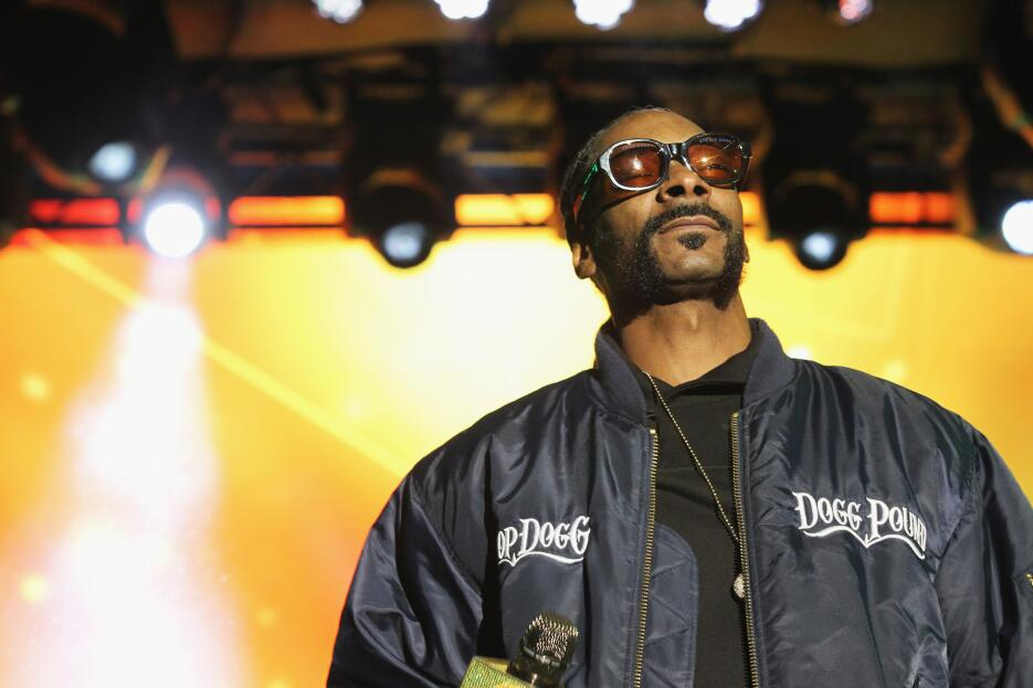 NEW YORK, NY - MAY 03: Snoop Dog performs onstage at the AOL NewFront 20...