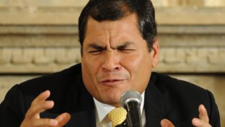 Rafael Correa, presidente de Ecuador, dejó en duda si asistirá a la Cumb...