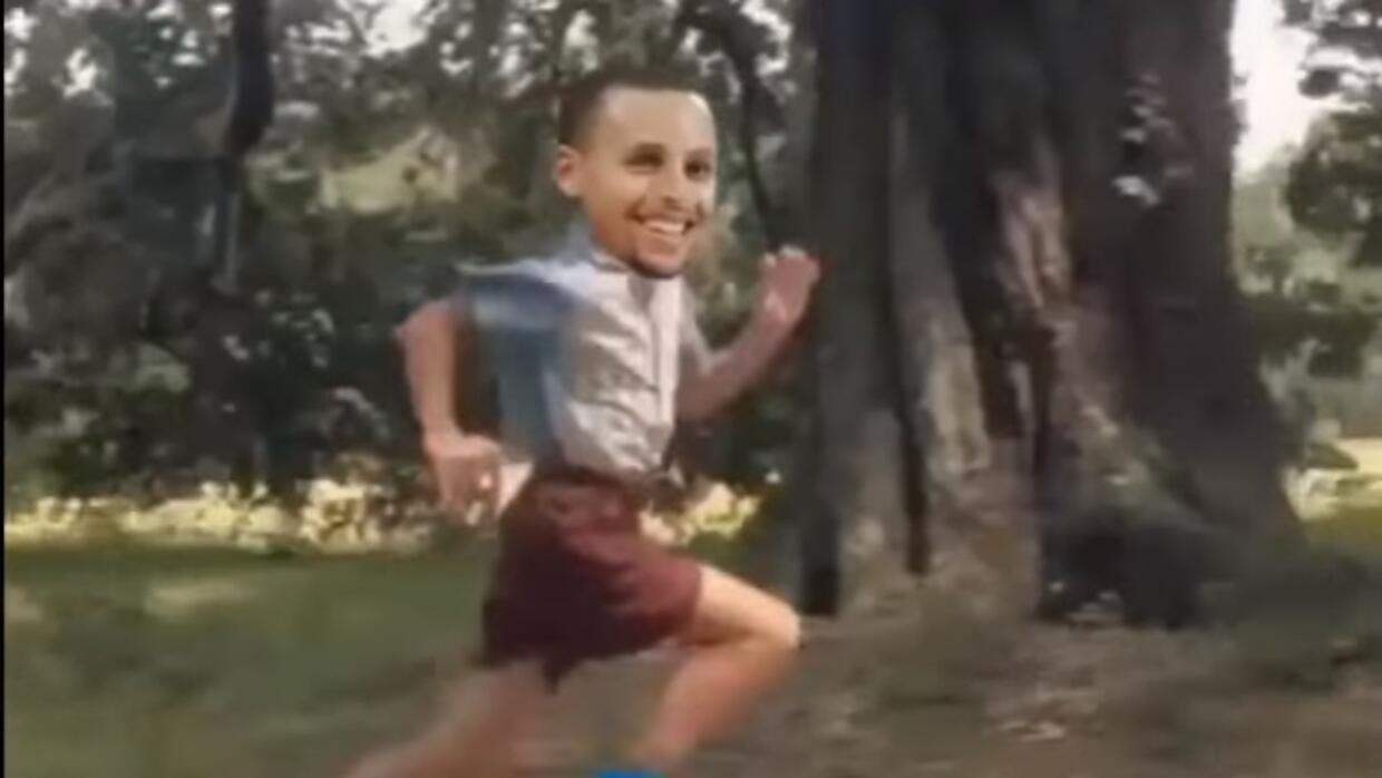 Stephen Curry es Forrest Gump