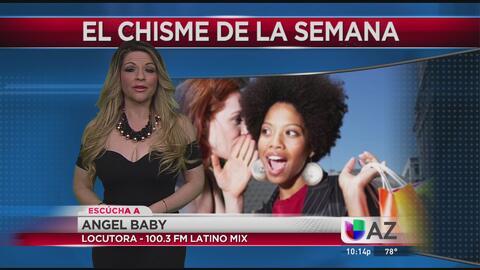 Angel Baby de Latino Mix 100.3 nos cuenta Los Chismes de La Semana por N...